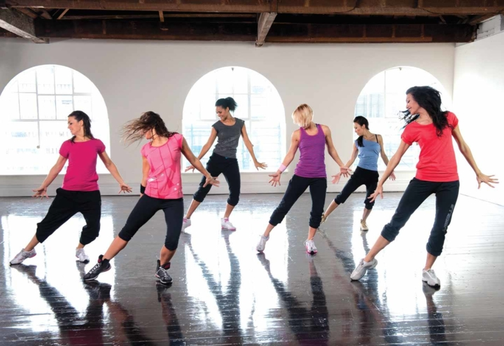 A dance workout at Kurotel Longevity Center & Spa in Gramado, Brazil