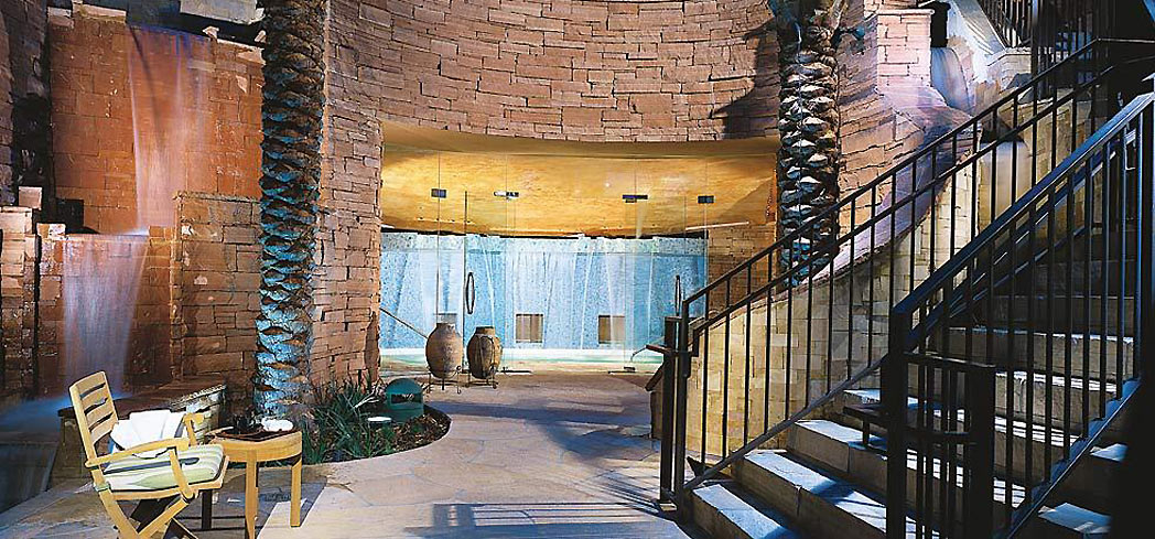 The treatment pool at Well & Being Spa inside the Fairmont Scottsdale Princess