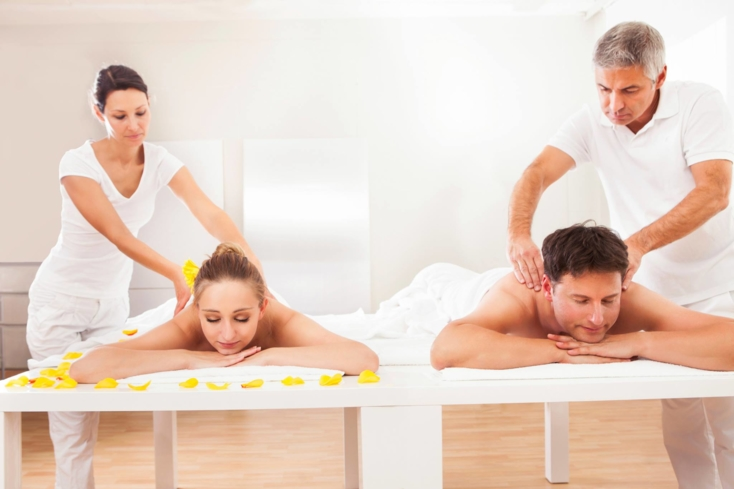 Book a romantic couples spa package at Dtox Day Spa