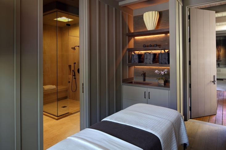 A treatment suite at Meadowood Spa