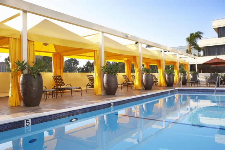 The pool at TheSpa Santé and Salon at Fairmont Newport Beach