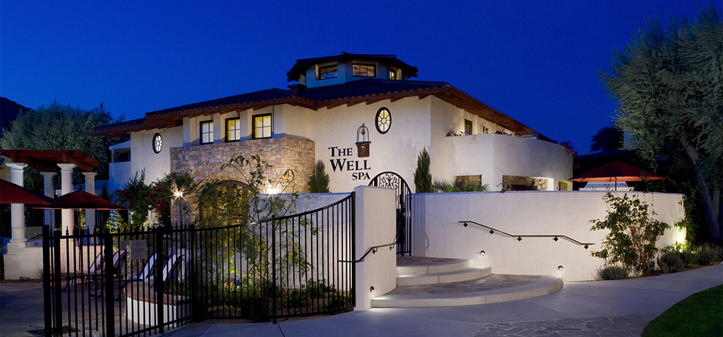 The exterior of The Well Spa at Miramonte Indian Wells Resort & Spa