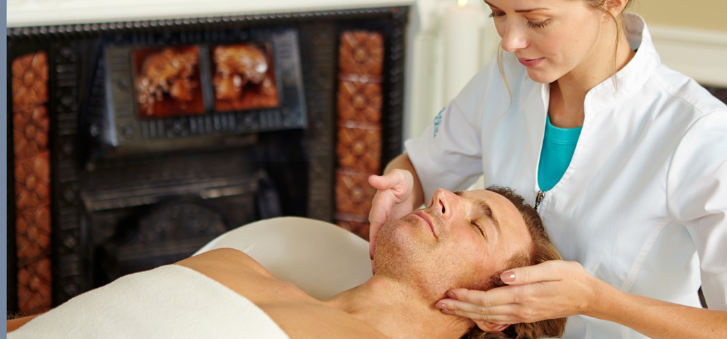 A facial at Spa of the Rockies at Glenwood Hot Springs Resort