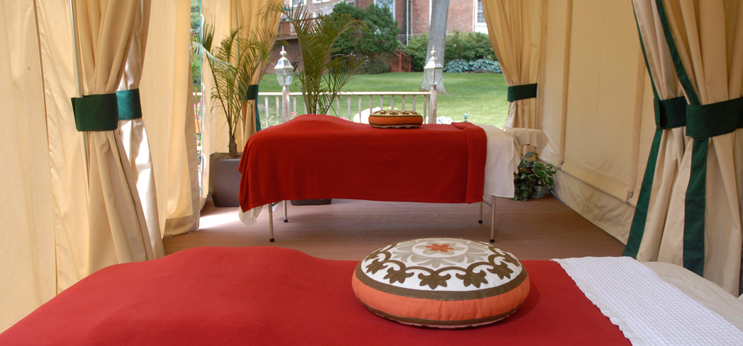 Immerse yourself in the tranquil countryside at The Spa at Norwich Inn