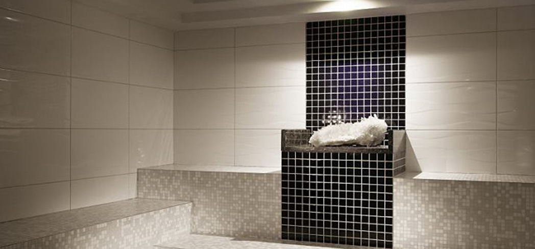 The Crystal Steam Room at Carillon Spa