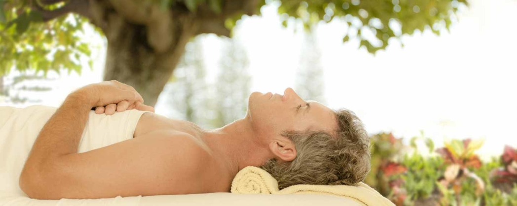 Men can book the Gentleman's Facial at The Spa at Travaasa Hana