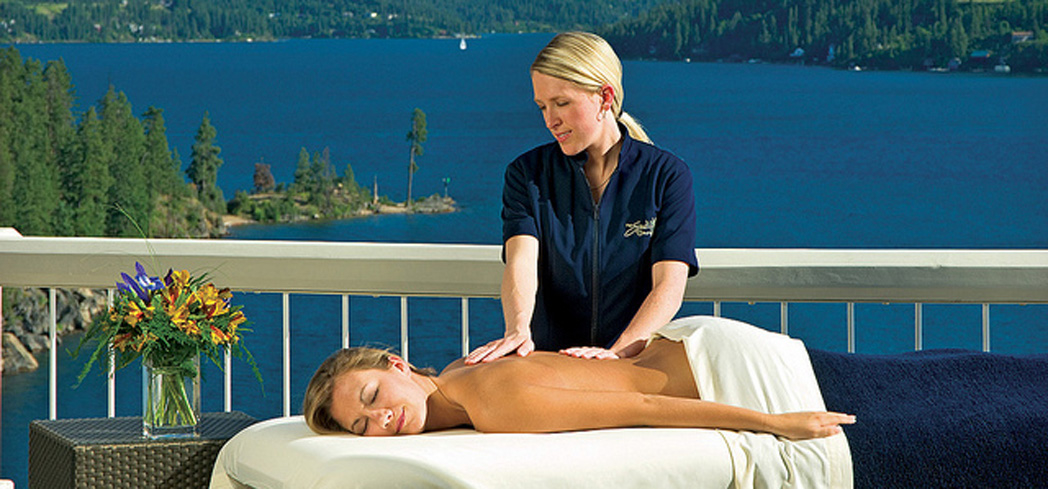 Become one with nature at The Spa Coeur d'Alene