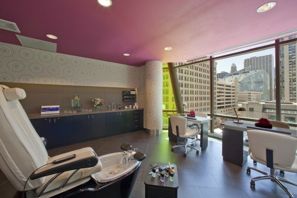 Inside Spa@theWit in Chicago, Illinois