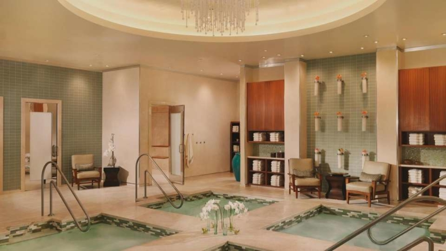 The baths at Bellagio Spa, Salon & Fitness