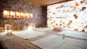 Enjoy a relaxing massage at Olympic Spa, a women's only spa in Koreatown