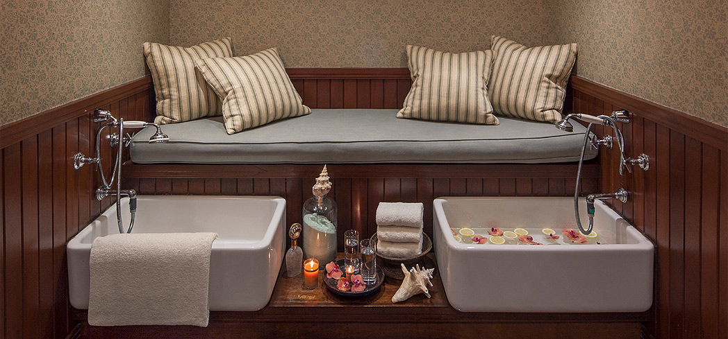 Choose from an array of treatments at ONE Spa at Shutters on the Beach