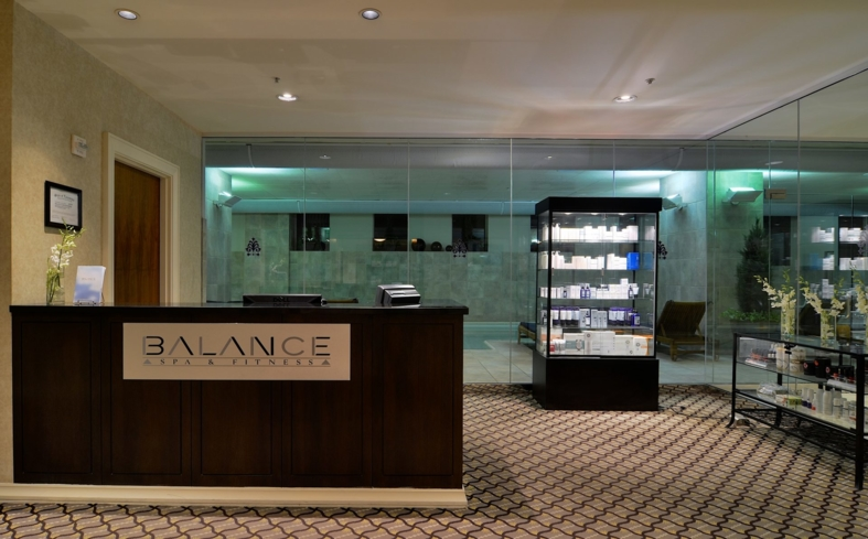Inside Balance Spa & Fitness at the Loews New Orleans Hotel