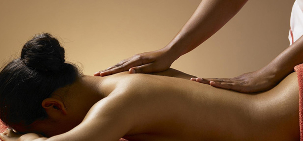 A massage treatment at Martha's Vineyard Spa