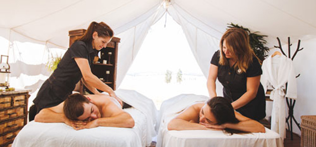 Indulge in a getaway at The Resort at Paws Up Spa