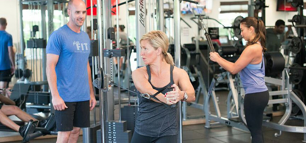 Get personal training at Health Spa Napa Valley