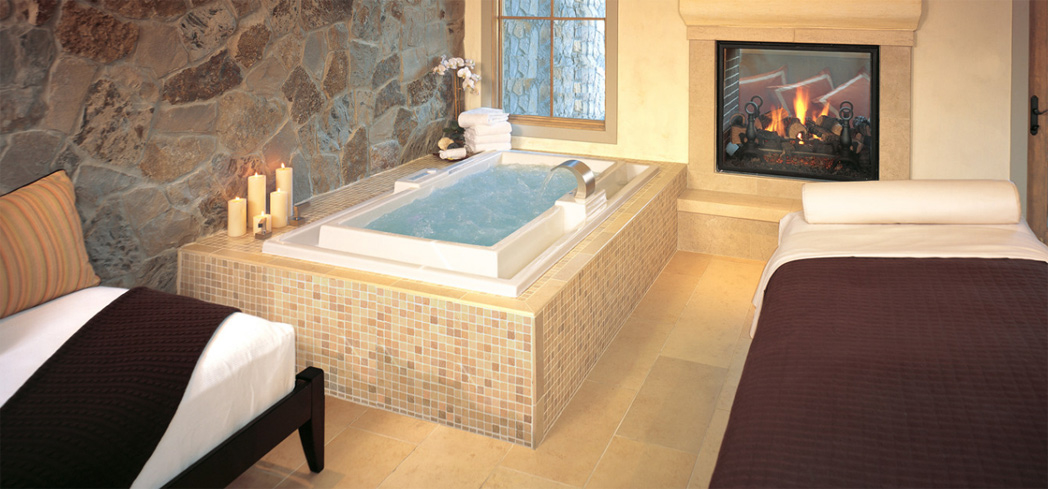 A spa suite at Spa Villagio