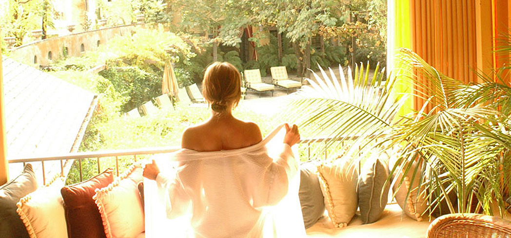 Feel refreshed and renewed after a treatment at The Spa at Kenwood Inn