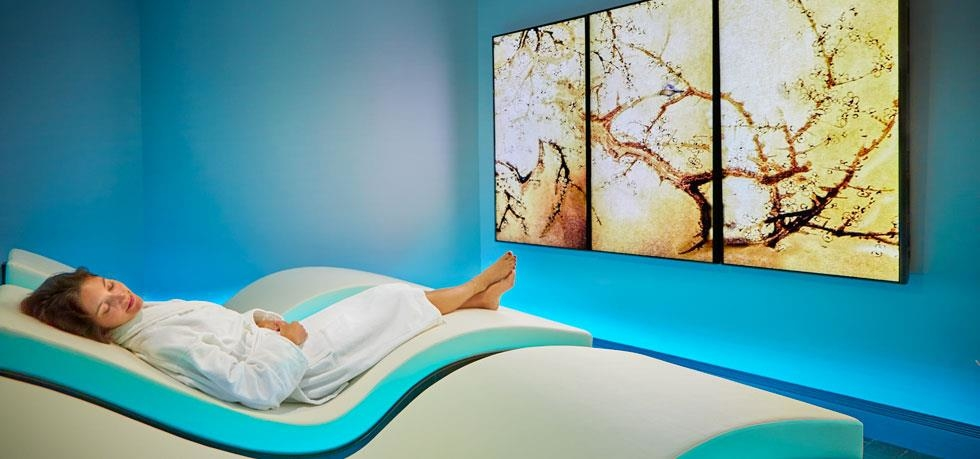 The Willow Stream Spa Meditation Room