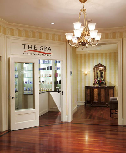 Enjoy a time of tranquility at The Spa at The Wentworth