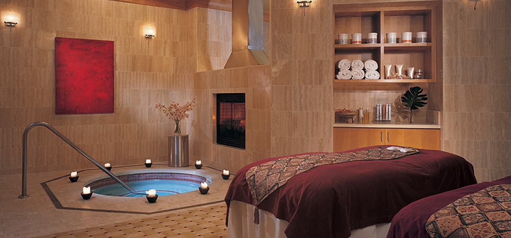 A treatment room at Spa Toccare at Borgata Hotel, Casino & Spa