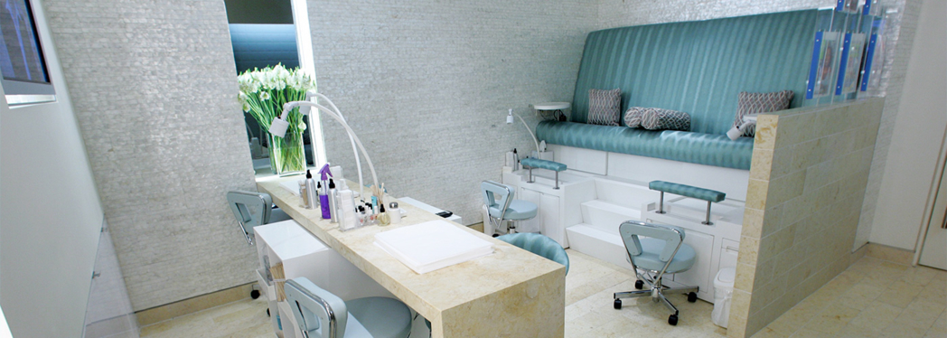 The Nail Care Station at bliss 57 nyc