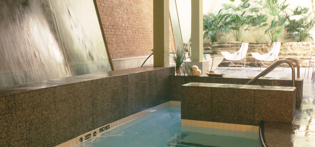The Water Lounge at Great Jones Spa