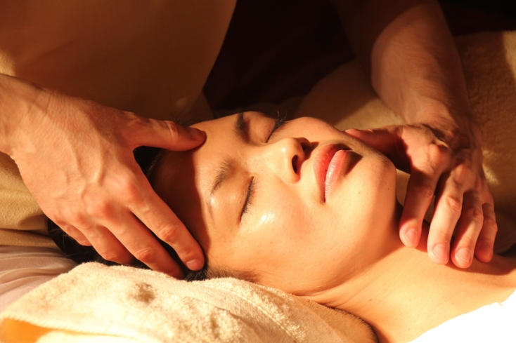 Enjoy a massage at The Aurora Spa at Mario's International Hotel