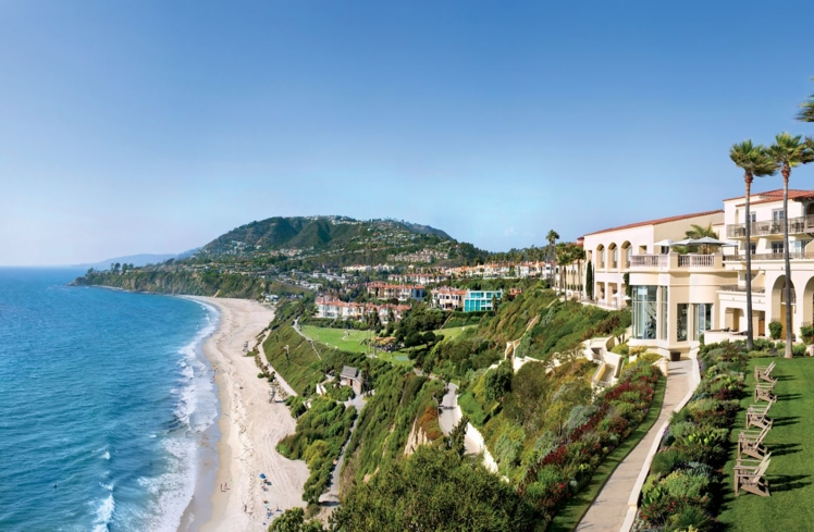 The Ritz Carlton Spa, Laguna Niguel offers relaxation with sweeping ocean views