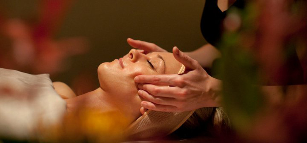 A facial at Kanani Pearl Spa in Portland, Oregon