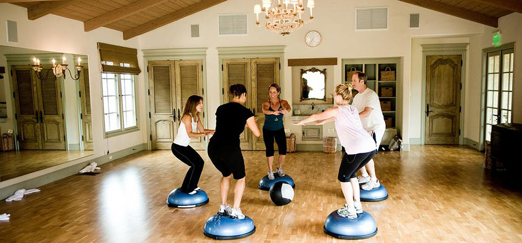 Get in shape with a fitness class at the Spa at Cal-a-Vie
