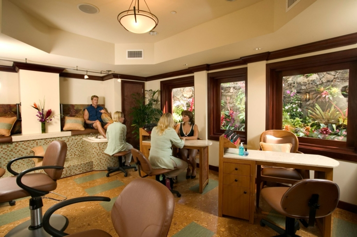 Enjoy a refreshing manicure or pedicure at The Catamaran Spa