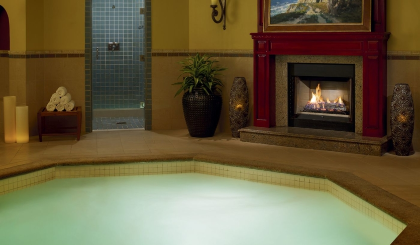 The Roman Jacuzzi at The Ritz-Carlton Spa, Half Moon Bay
