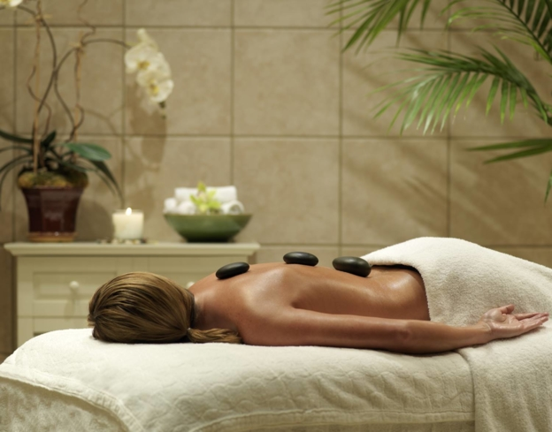 Pamper yourself with a treatment at Galveston Spa at Moody Gardens Hotel