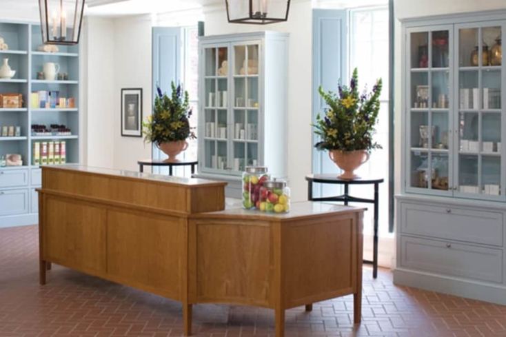 Inside The Spa of Colonial Williamsburg