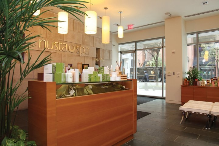 All treatments at Nusta Spa in Washington D.C. are environmentally friendly