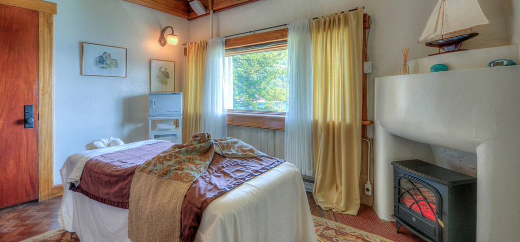 Enjoy magnificent views of the Cascade Bay and the San Juan Islands at The Spa at Rosario