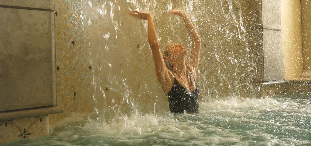 Hydrotherapy is the specialty at Kohler Waters Spa