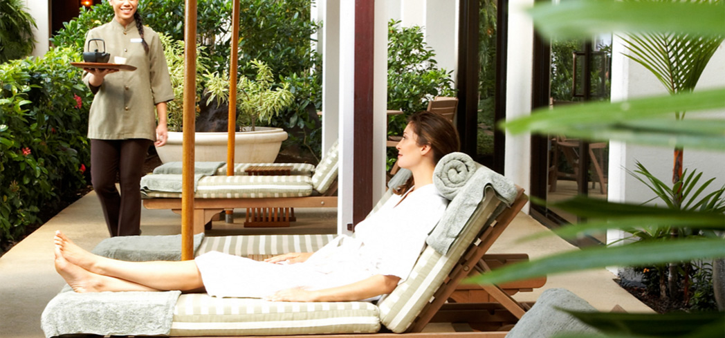 Relax among serene surroundings at Spa Halekulani