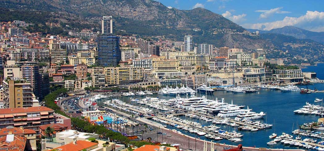Port of Hercules in Monaco