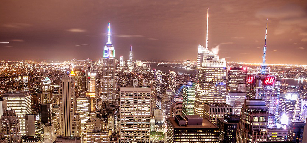 The Skyline Lights Up in the City that Never Sleeps